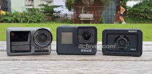 【盲拳打死老師傅?】DJI Osmo Action、GoPro Hero7 Black、Sony RX0 II 同場較勁